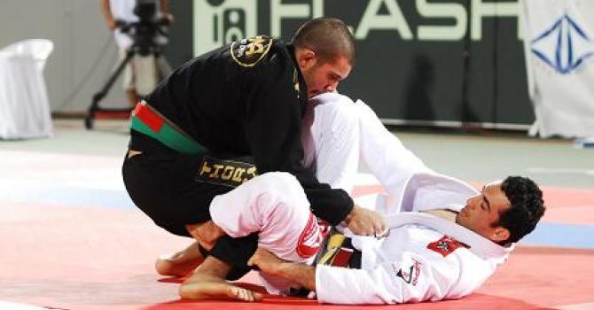Rodolfo Vieira contra Bráulio Estima no World Pro de 2009. Foto: Ivan Trindade/GRACIEMAG
